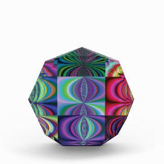 Multi Color Swirl Variations Award