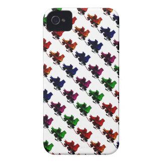 Multi Color Vintage Roller Skates iPhone 4 Case-Mate Case