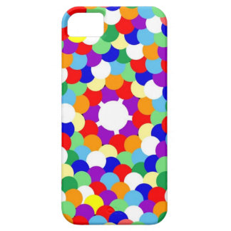 Multi coloreada manchada funda para iPhone SE/5/5s