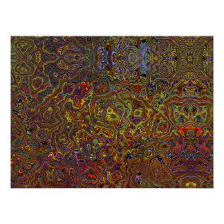 Multi-Colored Abstract 26 Poster Art