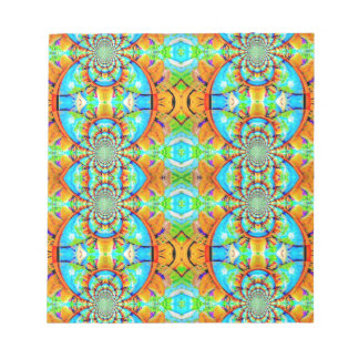 Multi Colored Abstract Chain Pattern Scratch Pads