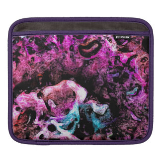 Multi Colored Abstract iPad Sleeve