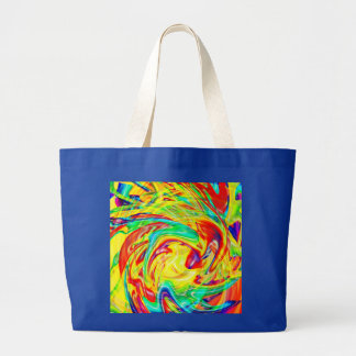 Multi-colored Abstract Jumbo Tote