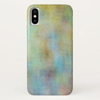 Multi-Colored Abstract /photog and digital manip. iPhone X Case