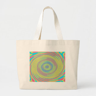 Multi Colored Abstract Swirl Bag