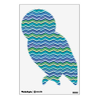 Multi Colored and Layered Chevron Wall Decal
