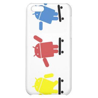 Multi Colored Android Skateboarder Case For iPhone 5C