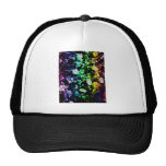 Multi-Colored Blooms Hat
