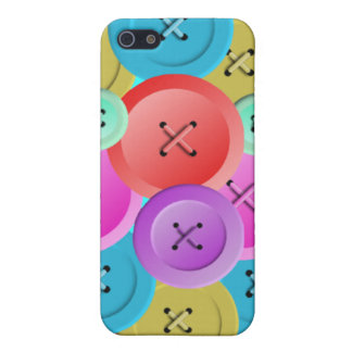 Multi-Colored Buttons Case For iPhone SE/5/5s