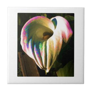 Multi-colored Calla Lily Tile