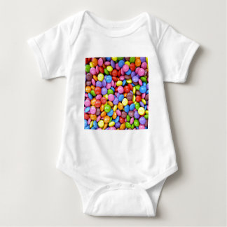 Multi-Colored Candy Baby Bodysuit