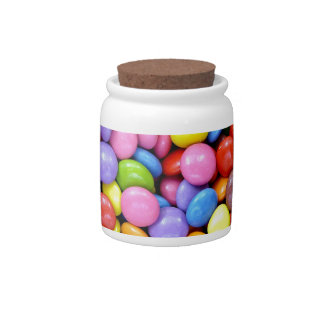 Multi-Colored Candy Candy Jar