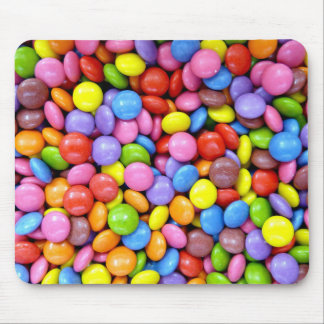 Multi-Colored Candy Mouse Pad