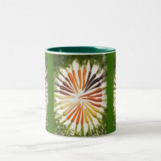 Multi-Colored Carrots Mug