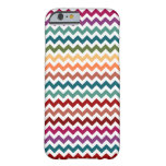 Multi-Colored Chevrons | Customizable Barely There iPhone 6 Case