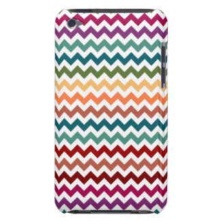 Multi-Colored Chevrons Customizable iPod Touch Cover