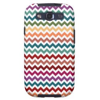 Multi-Colored Chevrons | Customizable Samsung Galaxy S3 Cases