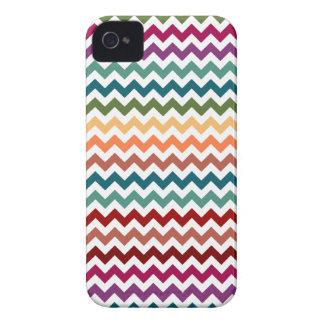 Multi-Colored Chevrons   Customizable iPhone 4 Case
