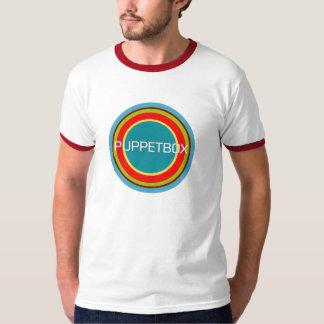 Multi-Colored Circle Puppetbox Logo T-Shirt