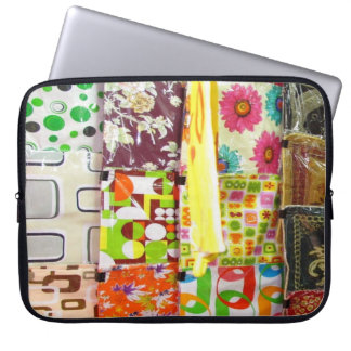Multi-Colored Cushion Covers Laptop Computer Sleeve