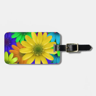 Multi-colored Daisies Luggage Tag