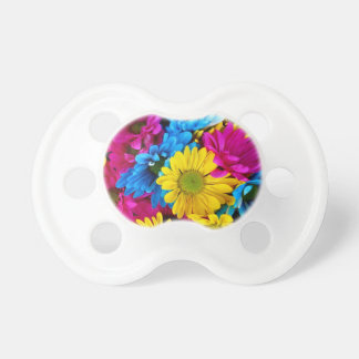 Multi-Colored Daisies Pacifier