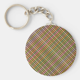 multi-colored diagonal abstract keychain