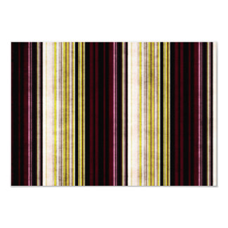 Multi colored distressed striped blank rsvp card