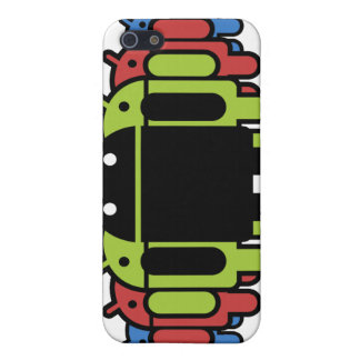 Multi colored Droid Army Covers For iPhone 5