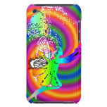 Multi-colored fairy barely there iPod covers
