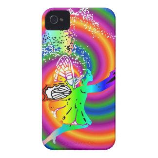 Multi-colored fairy iPhone 4 Case-Mate case