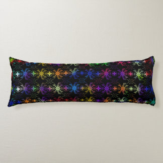 Multi Colored Floral Body Pillow