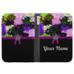 Multi-colored floral case for kindle