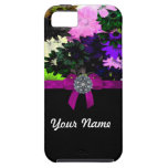 Multi-colored floral iPhone 5 case