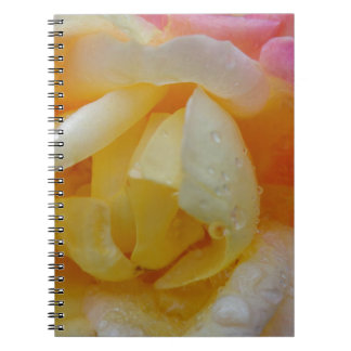 Multi Colored Flower Notebook