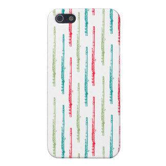 Multi Colored Flutes Case For iPhone SE/5/5s