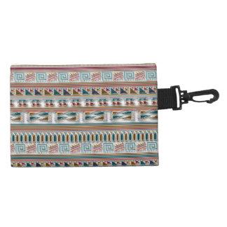 Multi Colored Gems Geometric Aztec Tribal Pattern Accessories Bags