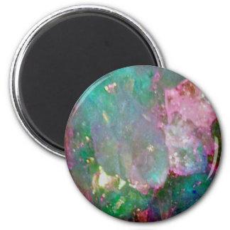 Multi Colored Gemstone Magnet