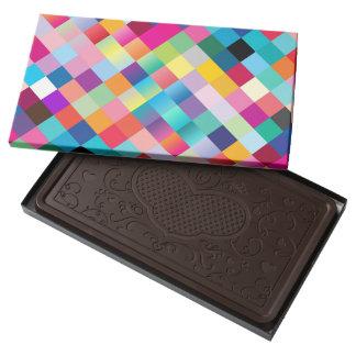 Multi Colored Geometric Box