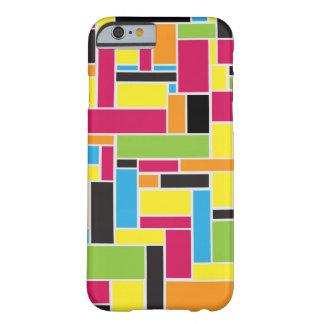 Multi colored geometric pattern iPhone 6 case
