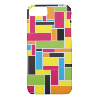 Multi colored geometric pattern iPhone 7 case