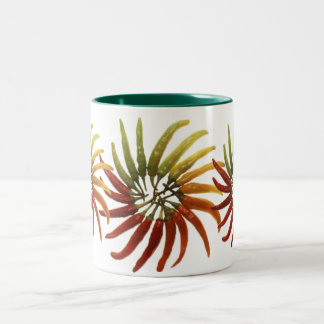 Multi-Colored Hot Peppers Mug