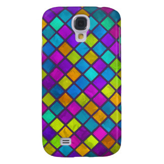 Multi Colored Jewel Mosaic Galaxy S4 Cover