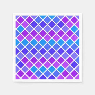 Multi Colored Jewel Mosaic Paper Napkin