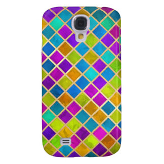 Multi Colored Jewel Mosaic Samsung Galaxy S4 Cover