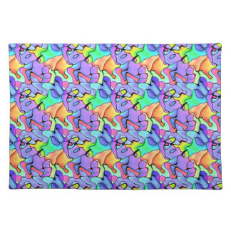 Multi Colored Jigsaw Placemat