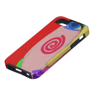Multi-Colored Lady iPhone 5 Cases