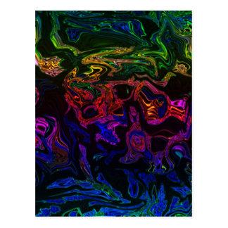 Multi-colored Moziac Cards