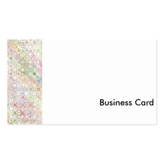 Multi-Colored Muted Business Card