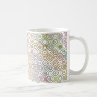 Multi-Colored Muted Coffee Mug